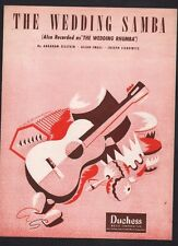 The Wedding Samba 1948 Sheet Music