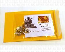 K4 HO Parts 4.7 Mm 0.18 Inch Marker Lamp Headlight Crystal Clear Jewel Lenses