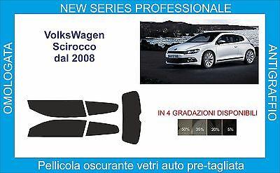 pellicole oscuranti vetri volkswagen scirocco 3 porte dal 2008 in poi