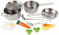 Kidkraft, Deluxe Cookware Set, (11 Pieces) , New, Free Shipping on sale