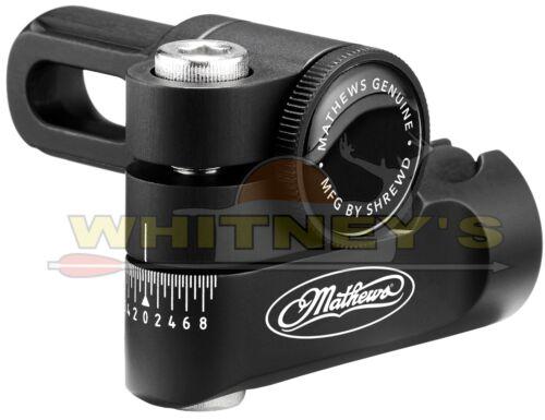 Mathews Véritable Accessoires De Tir à l/'arc réglable V-Barre Aluminium Noir