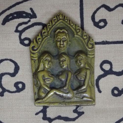 Phra Khun Paen LP Tim Amulet for Men Get Wealth Love Erotic Woman Spiritual