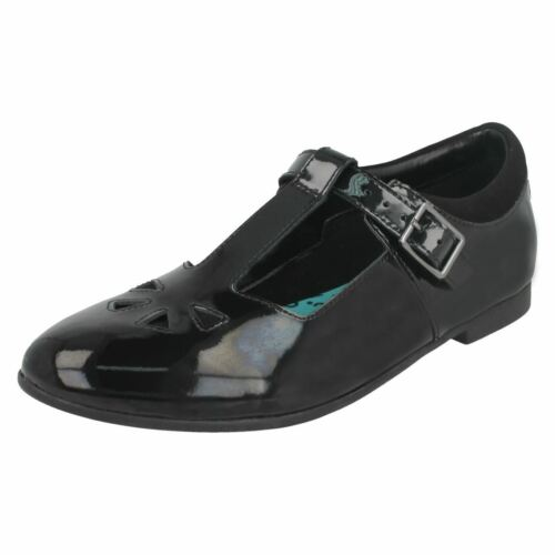 Clarks Senior Girls T-Bar Shoes /'Selsey Play/'