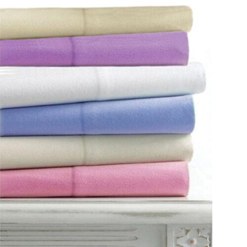 Linens Limited 100/% Coton Brossé Flanelle taies d/'oreiller