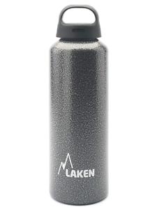 1L Laken Aluminium Classic Wide Mouth Water Bottle Granite
