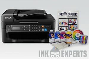 A4-Sublimation-Printer-Bundle-EPSON-WF-2630-4-x-100ml-Ink-Paper-None-OEM