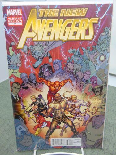New Avengers #34 Variant Cover Marvel Comics vf//nm CB2222