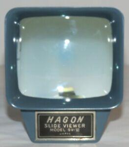 Vintage-Hagon-Model-SV-VI-Slide-Viewer-Japan