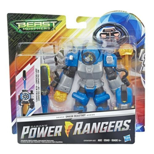 Power Rangers Bête Morphers Smash Bleu beastbot Deluxe Figure