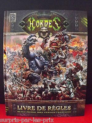 Hordes Livre De Regles Grand Format - Remix Primal Mkii Version Francaise Neuf Lucentezza Luminosa