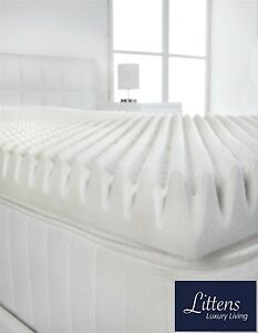 memory foam bed topper. image is loading 2-034-deep-memory-foam-mattress-topper-profile- memory foam bed topper a