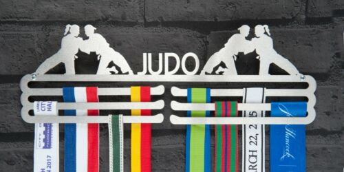 Livello Triplo Judo Donna in Acciaio Inox MEDAGLIA Hanger Display
