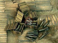 Verlinden 1/48 German Luftwaffe 50kg SC-50 General Bombs & Bomb Crates WWII 1119
