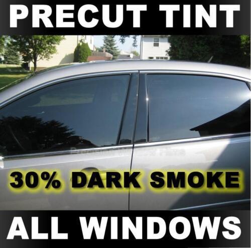 GMC Sonoma Extended Cab 94-04 30/% Dark Smoke Precut Window Tint for Chevy S-10
