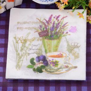 20pcs-Papier-rote-Blume-und-Trauben-Servietten-fuer-Hochzeit-bedrucktem-Papier-na