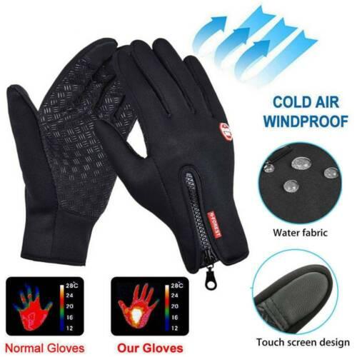 Women Men Winter Warm Windproof Waterproof Thermal Touch Screen Gloves Mittens
