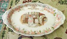 Royal Doulton Brambly Hedge Poppy's Bedroom Oval Tray