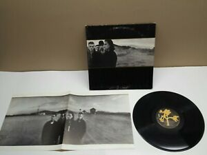 U2-The-Joshua-Tree-1987-RCA-CLUB-RELEASE-90581-1-R-153501-w-Poster-EX