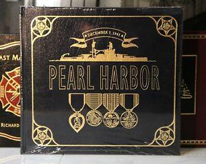 PEARL HARBOR - Easton Press - Arroyo - LARGER BOOK - SCARCE! - SEALED w/BOX