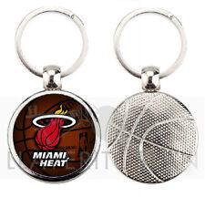 MIAMI HEAT NBA BASKETBALL KEYRING-KEYCHAIN-PORTACHIAVI-PORTE-CLÉS-LLAVERO