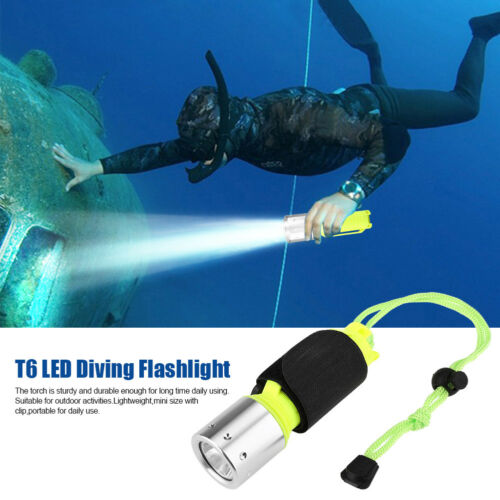 10000LM XM-T6 LED Diving Flashlight Waterproof Underwater Flashlight Torch Lamp