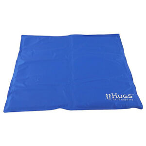 hugs chilly mat cooling dog bed indoor outdoor cool gel pad vinyl