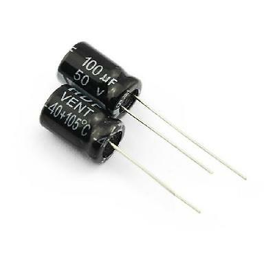 E-Projects 10pcs 100uF 50V 105c Radial Electrolytic Capacitor US SHIPPING