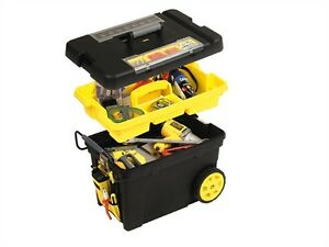 Stanley-Pro-Mobile-Tool-Box-Chest-Toolbox-Trolley-Impact-Resistant