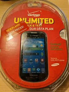 New-Sealed-Samsung-Galaxy-Legend-4GB-Black-4-034-Verizon-Prepaid-Smartphone