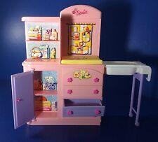 Baby Changing Station BARBIE Happy Family Nursery Table Dresser Furniture Shelf