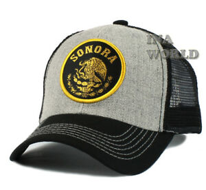 Image is loading MEXICAN-hat-MEXICO-Federal-Logo-State-Mesh-Snapback- 9503a584a24