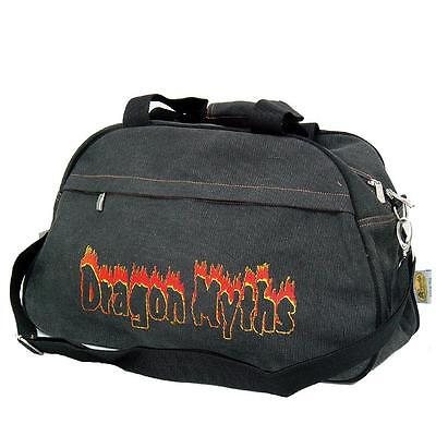 Gut Tragetasche Umhängetasche Dragon Myths Drache Halloween 75005 S Schwarz Grau Erfrischung