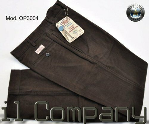 PANTALONE OIL & CO MOD AMERICA FUSTAGNA MISURA 44 coloreE MarroneeE