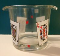 Luminarc Glass card Party Ice Bucket. In Box