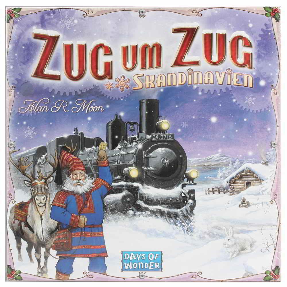 Days of Wonder treno per  treno la Sceinavia (tedesco)  popolare