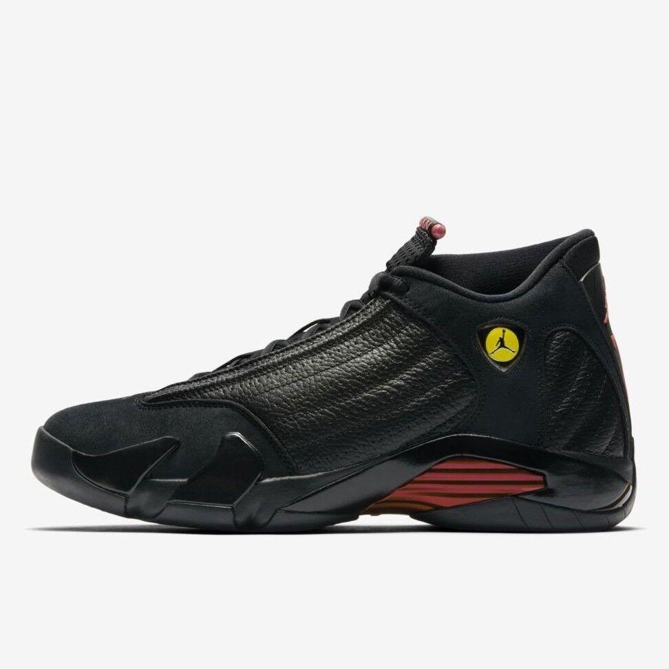 Nike Air Jordan Retro 14 XIV Last Shot 487471-003 2018 negro rojo lote 487471-003 Shot SZ 11 El modelo mas vendido de la marca 1a7b1e