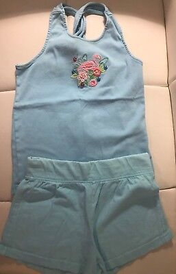 NEW Girls Size 10-12 Gymboree Outfit Black Shorts /& Sequin Flamingo Top NWT