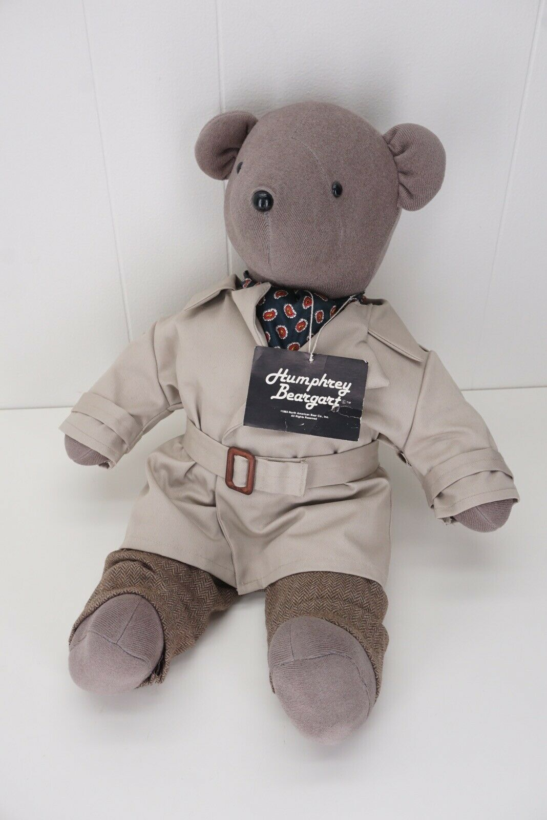 HUMPHREY BEARGART Vintage North American Bear Co Full House Mr Bear 1983 Plush