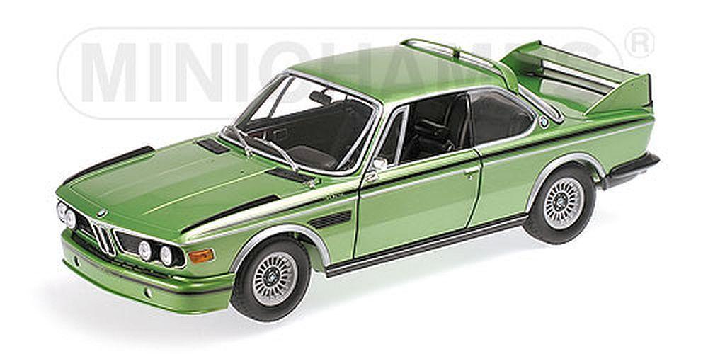 Minichamps 1 18  180029024 BMW 3.0 Csl (E9) - 1975 - Metallic Green - Sold Out