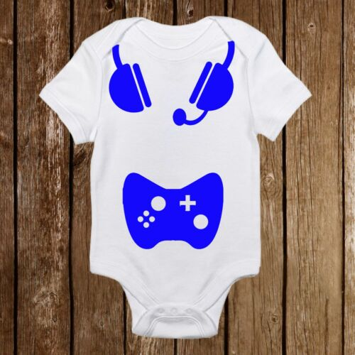 Baby Shower Gift Geeky Baby Onesies Born Gamer Unisex Baby Outfit Nerd Awesome
