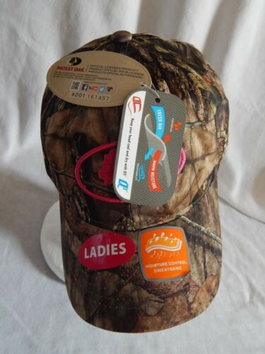 3 of 12 NEW Mossy Oak Slouch Hat Cap Camo Adjustable Strap Camouflage Pink  Women s OSFM 39360c2f16a0