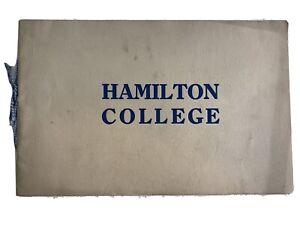 Antique-Hamilton-College-1916-Information-amp-Photo-Views-Book-Brochure-Clinton-NY