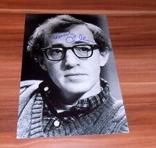 Woody Allen *Oscar Annie Hall 1978*, original signed Photo in 20x25 cm (8x10)
