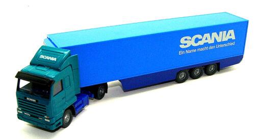 Wiking 528 01 36 scania 143 M de refrigeración maleta-remolcarse//scania