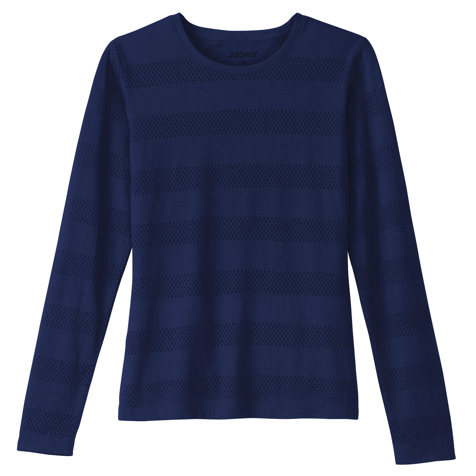3 Sizes JAYNE CLAY Women/'s Long Sleeve Burnout V-Neck T-shirt 6 Colors