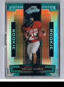 2005 Absolute Memorabilia Spectrum Silver #196 Kay-Jay Harris NM-MT /100