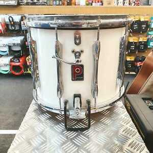 Vintage-Premier-Marching-Snare-Drum-in-White