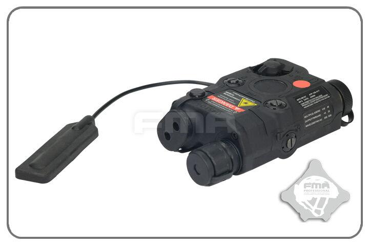 FMA PEQ15 linterna antorcha Puntero Láser Roja ir con interruptor interruptor interruptor trasero-Negro eb8a97