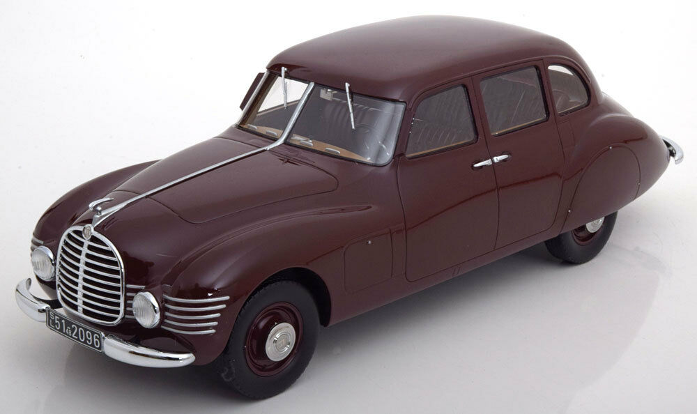 1948 Horch 930S Streamliner Dark Red LE of 300 1 18 Scale. New Release