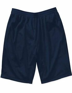 Sizes Small-2XL NEW Starter Mens Active Mesh Basketball Running Shorts Red